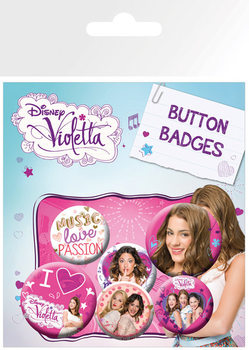 Set de chapas VIOLETTA - This Is Me
