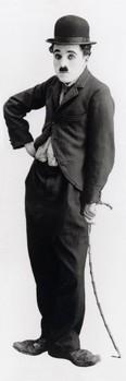 Charlie Chaplin - tramp - плакат (poster)
