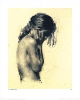 Charlie Mackesy - Girl Festmény reprodukció