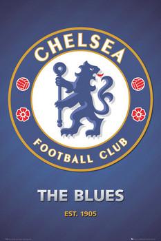 Chelsea - club crest 2013 - плакат (poster)