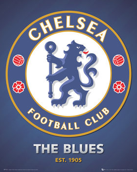 Chelsea FC - club crest - плакат (poster)