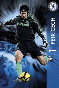 Chelsea - Petr Čech - плакат (poster)