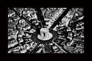 Γυάλινη τέχνη City - Black and White