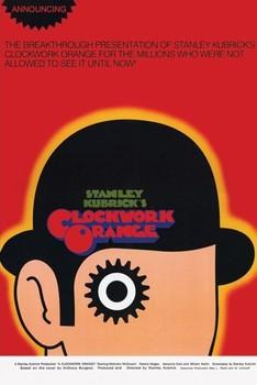 CLOCKWORK ORANGE - one sheet - плакат (poster)