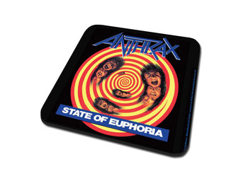 Anthrax - State Of Euphoria Coasters