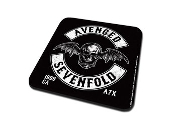 Avenged Sevenfold - Deathbat Crest Coasters