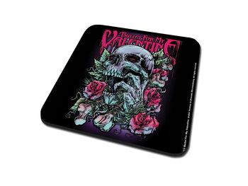 Bullet For My Valentine - Spenc Skull Red Eyes Coasters