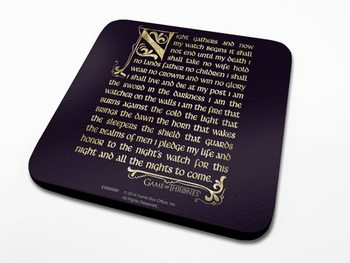 Game of Thrones - Oath Coasters