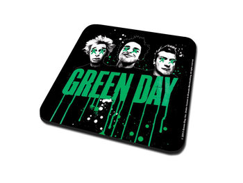 Green Day - Drips Coasters