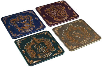 Harry Potter - Hogwarts Crest Coasters