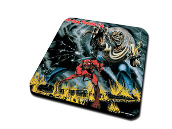 Iron Maide - Number Of The Beast Coasters
