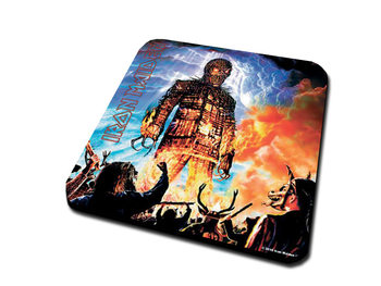 Iron Maiden – Wicker Man Coasters