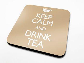 Keep Calm, Drink Tea Coasters