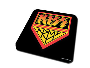 KISS -  Army Pennant Coasters