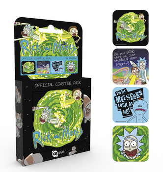 Rick And Morty - Mix Coasters