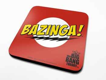 The Big Bang Theory - Bazinga Red Coasters