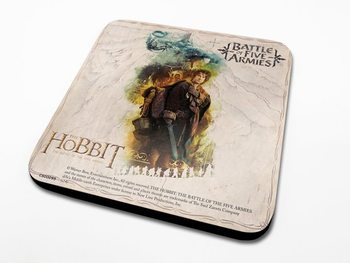 The Hobbit 3: Battle of Five Armies - Bilbo Coasters