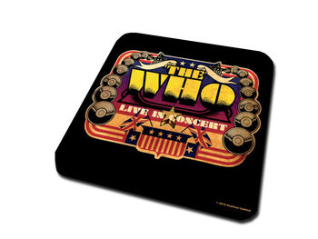 The Who – Live In Concert Coasters
