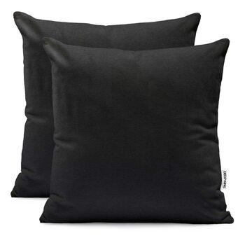 Fundas de almohada Amber Black