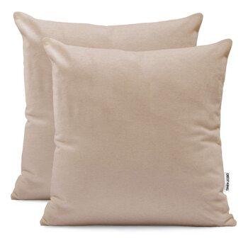 Fundas de almohada Amber Cappuccino