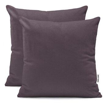 Fundas de almohada Amber Chocolate