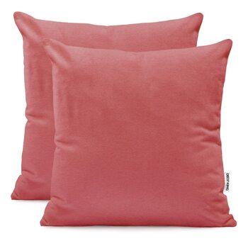 Fundas de almohada Amber Old Rose