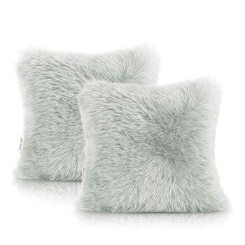 Fundas de almohada Amelia Home - Dokka Grey