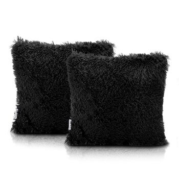 Fundas de almohada Amelia Home - Kravag Black