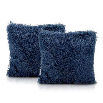 Fundas de almohada Amelia Home - Kravag Dark Blue