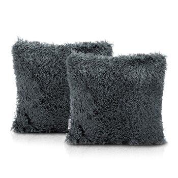 Fundas de almohada Amelia Home - Kravag Dark Grey