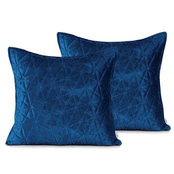 Fundas de almohada Amelia Home - Laila Royal Blue