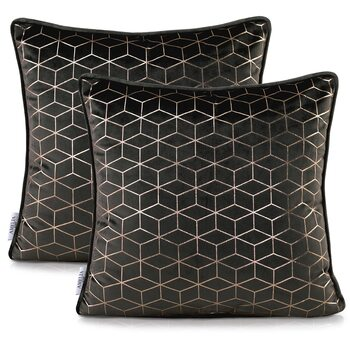 Fundas de almohada Amelia Home - Nancy Black