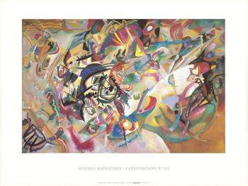 Composition 1919 Festmény reprodukció