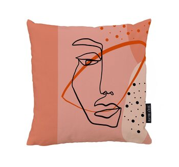 Coussin Mysterious Dame