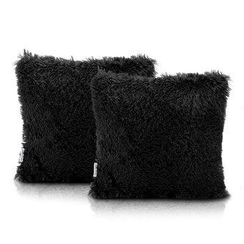 Les taies d'oreiller Amelia Home - Kravag Black