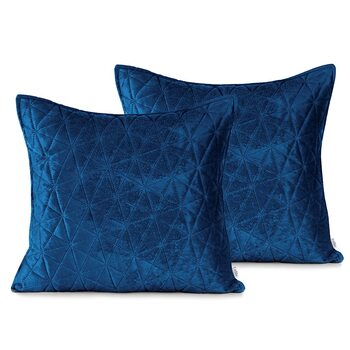 Les taies d'oreiller Amelia Home - Laila Royal Blue