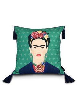 Coussin Frida Kahlo - Green Vogue