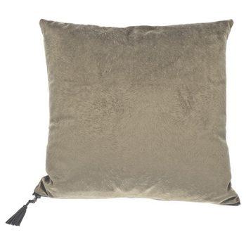 Coussin Pillow Fur Grey-Green
