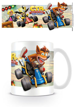 Hrnek Crash Team Racing - Fight for First Place