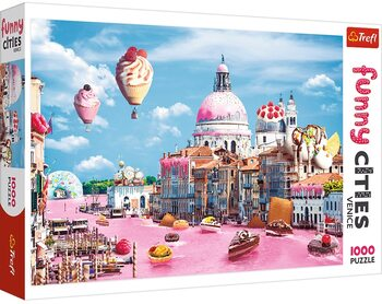 Puzzel Crazy City - Sweets in Venice