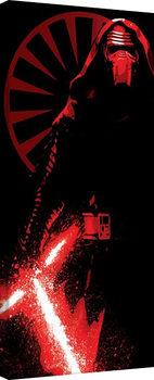 Vászon Plakát Csillagok háborúja VII (Star Wars: Az ébredő Erő) - Kylo Ren Paint