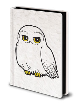 Cuaderno Harry Potter - Hedwig Fluffy