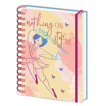 Cuaderno Mulan - Nothing Can Stop Me