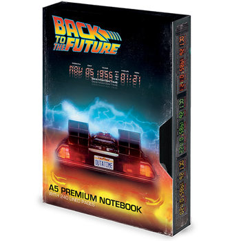Cuaderno Regreso al futuro - Great Scott VHS