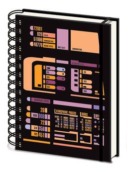 Cuaderno Star Trek TNG - Control Panel