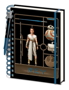 Cuaderno Star Wars: El ascenso de Skywalker - Airfix Rey
