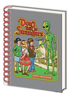 Cuaderno Steven Rhodes - Don't Talk To Strangers
