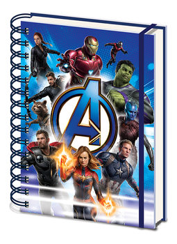 Avengers: Endgame - To Action Cuaderno