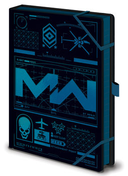 Call Of Duty: Modern Warfare - Icons Cuaderno