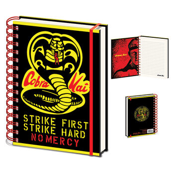 Cuaderno Cobra Kai - No Mercy